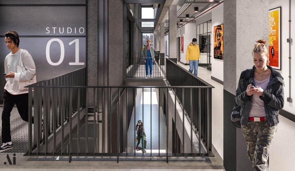 London Screen Academy Corridor