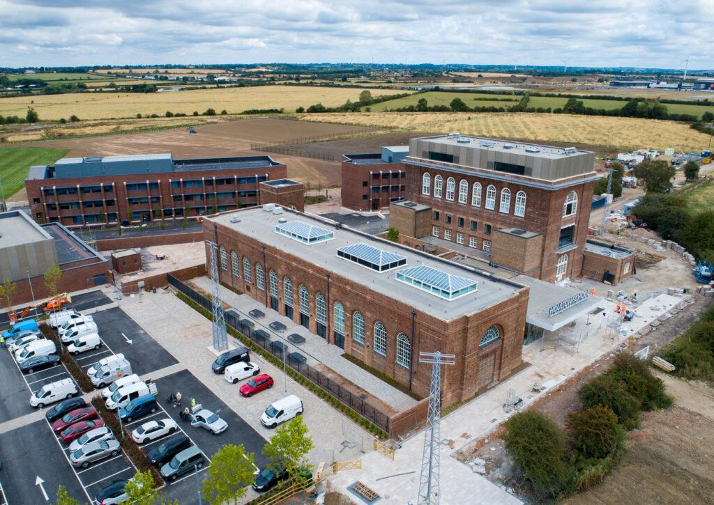 Aerial view of Houlton School 4