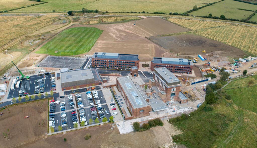Aerial view of Houlton School 2