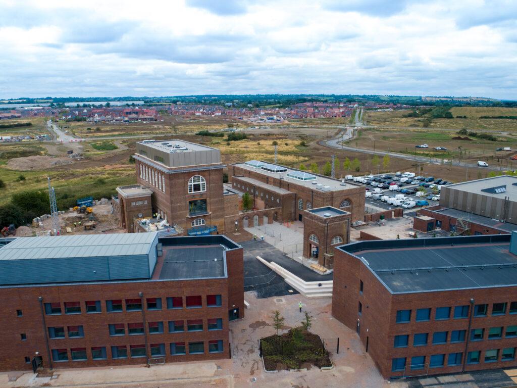 Aerial view of Houlton School 3