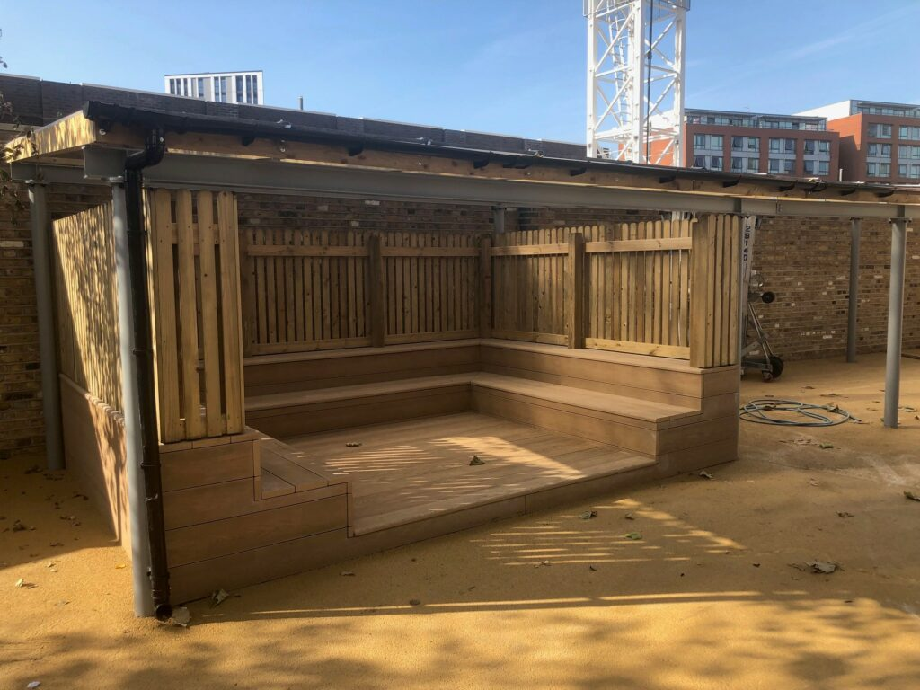 Outdoor oracy learning space